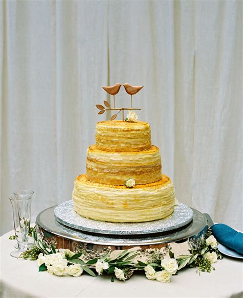 Wedding Cake Lewis by Classic Garden Wedding In Maryland By Jenks