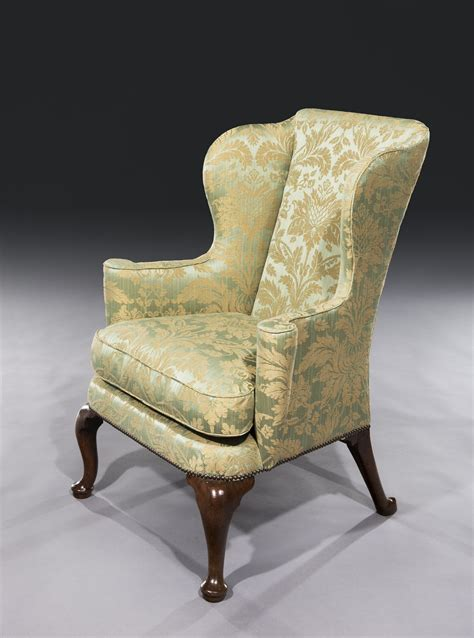 winged armchairs uk 18th century early george i period walnut winged back