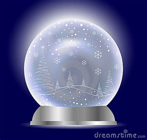 christmas vector snow globe stock images image