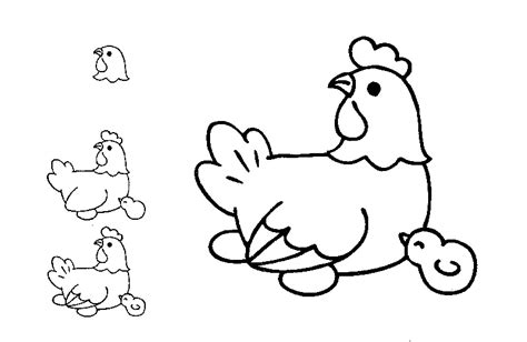 To Draw Coloring Pages Free Coloring Pages Kids Learn To Draw Farm Animals by To Draw Coloring Pages