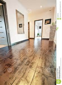 hall with decorative floor tiles stock photography image