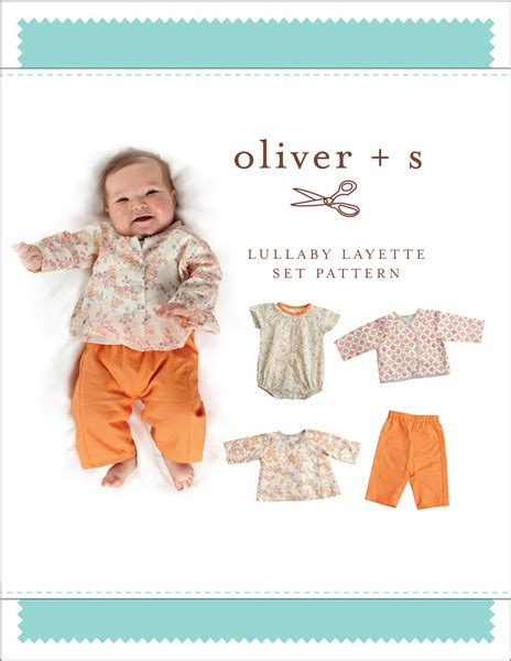 pattern review oliver s oliver s os046ll lullaby layette set downloadable