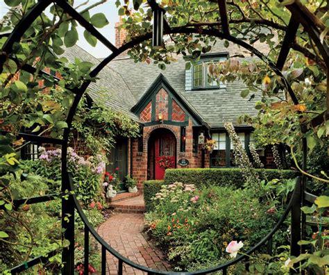 tudor terrace patio small tudor homes tudor style a textbook 1920s tudor in portland old house online