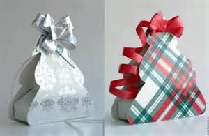 Cajas de cartulina de formas regalos navidad
