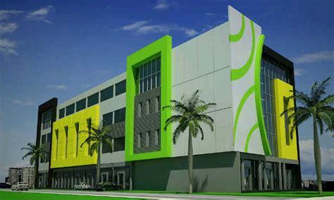 gambar design gedung kantor tingkat mewah kontraktor ruko di bali renovasi ruko kantor bali