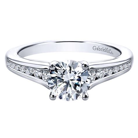 Engagement Ring Settings by Gabriel Co Engagement Rings 26ctw Diamonds 14k White Gold