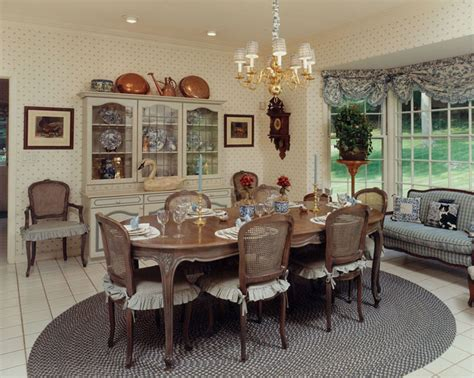 Country French Dining Rooms by Rosemary Bellinger Interiors Palm Beach Fl Greenwich