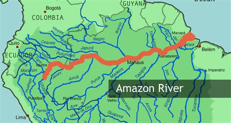 rivers of south america map the river in south america the 7 continents of