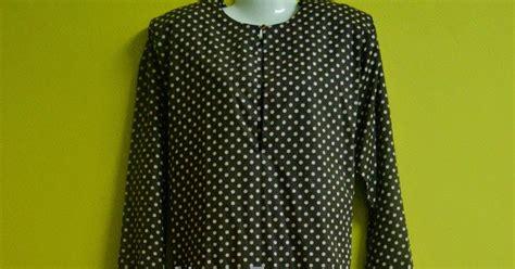 Baju Wanita Blouse Polkadot Sz5032 nash fesyen baju kurung polkadot