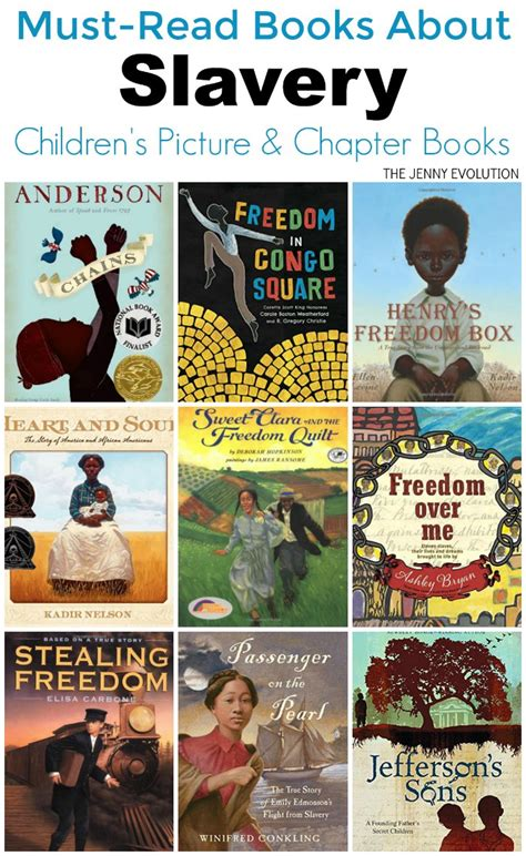 slavery picture books childrens books on slavery must read books for of
