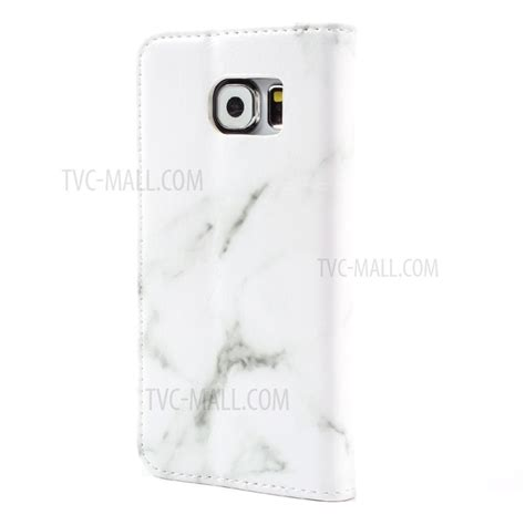 Marble Texture Gray Samsung Galaxy S6 Casing Cover Hardcase marble texture leather wallet phone cover for samsung
