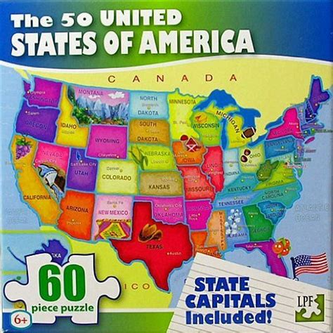map of us states jigsaw united states map jigsaw puzzle jigsaw puzzles for adults