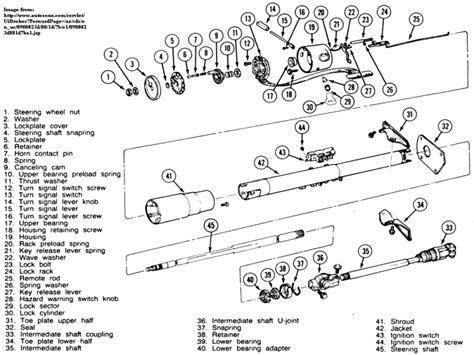 jeep wrangler steering column diagram wiring forums