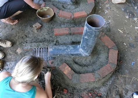 Cabin Building Plans how to build a rocket stove