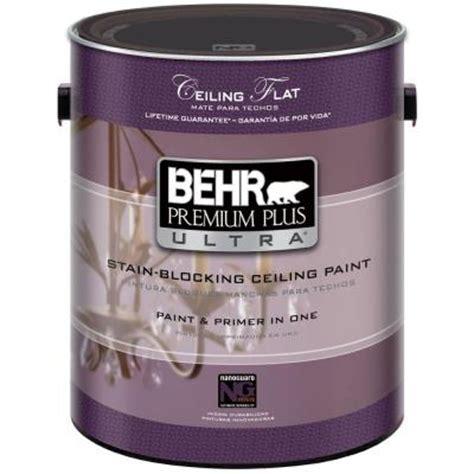 home depot behr ultra paint behr premium plus ultra 1 gal ultra white ceiling