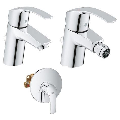 rubinetti grohe grohe miscelatori eurosmart new lavabo bidet