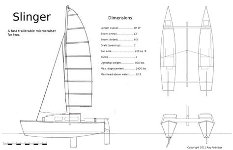 catamaran drawing roks boat guide plans to build a cat boat