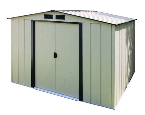 10x10 Shed Kit by Duramax 10x10 Eco Metal Storage Shed Kit 61235