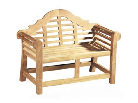 childrens park bench lutyens teak 0 8m childrens garden benches