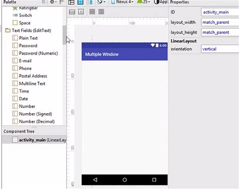 android layout under another split screen using multiple layout in android stechies