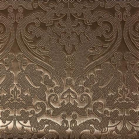 pattern fabric lyon embossed damask pattern vinyl upholstery fabric by