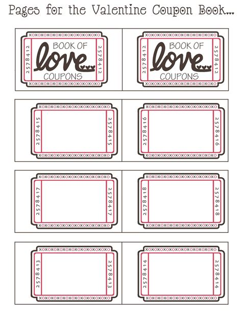 coupon book for husband template coupon book ideas for husband blank coupon templates