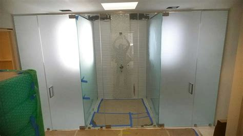 glass shower door installation glass shower doors design installation in ny nj