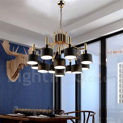 contemporary chandeliers dining room modern contemporary 12 light 2 tier chandelier l for
