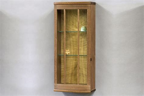 custom wall cabinet eastern walnut and bay laurel custom wall cabinet by tim