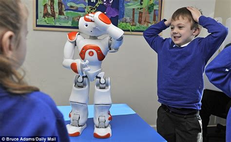 film with robot teachers robots making school a less scary place for autistic