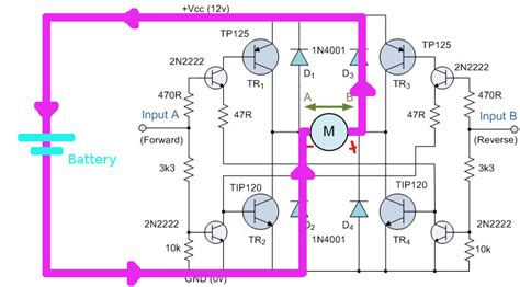 how do flyback diodes work how do flyback diodes work in h bridge configuration
