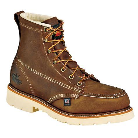 thorogood boots thorogood 6 quot steel toe pro moc toe boots 650578