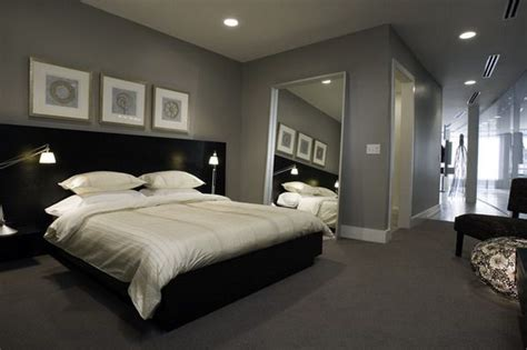 gray bedroom color schemes bedroom wall colors grey fascinating modern bedroom with grey color scheme and black