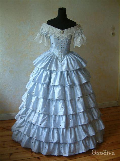 romantic period crinoline dress atelier gandiva