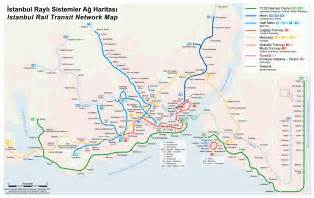 Istanbul Metro Map by Istanbul Metro Map Turkey