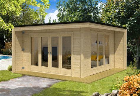 Gartenhaus Glasfront by Design Gartenhaus Cubus Capri40