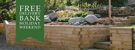 Free Delivery At Asos The Bank Weekend by Raised Flower Beds Garden Retaining Walls Planters