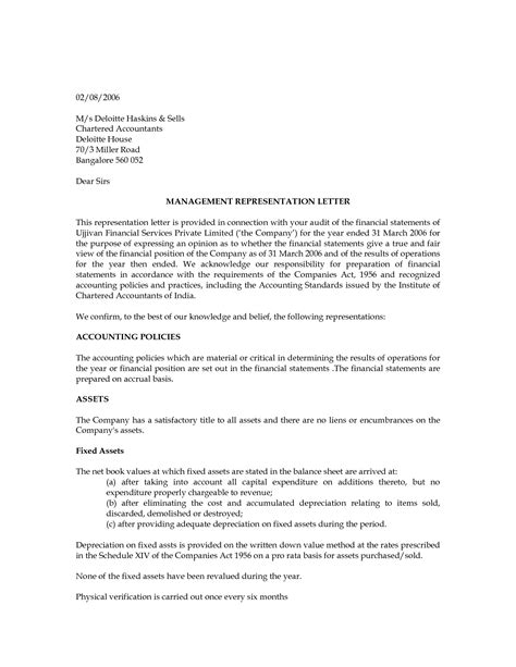 exles of cover letters nz audit management letter financial audit the