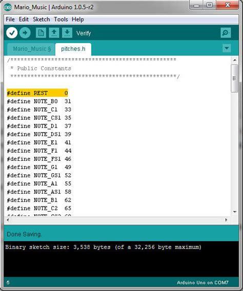 code arduino music play custom melodies on arduino 4