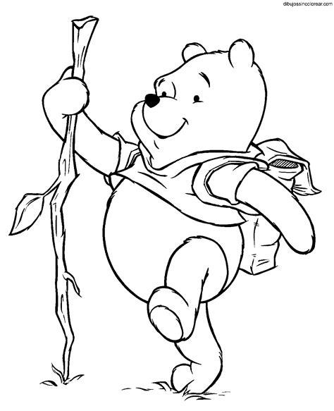imagenes de winnie pooh solo para colorear dibujos sin colorear dibujos de winnie the pooh para