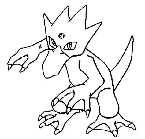 pokemon coloring pages golduck coloring pages pokemon golduck drawings pokemon