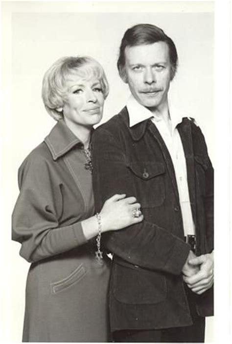 actor in george and mildred yootha joyce pictured with her co star brian murphy from