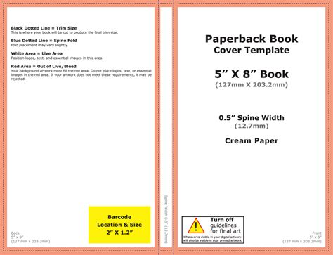 How To Get The Best Paperback Cover You Can With Createspace Self Publishing Review Createspace Book Cover Template