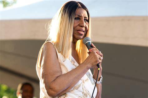 aretha franklin la aretha franklin cancels show due to health concerns