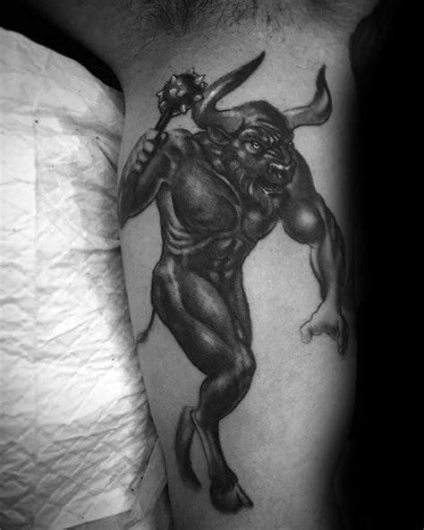 minotaur tattoo designs 40 minotaur designs for mythology ideas