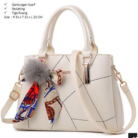 Tas Fashion 832 White jual b920 white tas fashion cantik grosirimpor