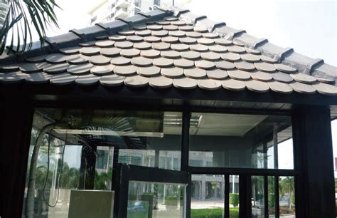 golden supplier traditional chinese  scale clay roof tile