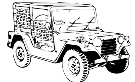 military jeep coloring pages jeep army car coloring pages bulk color