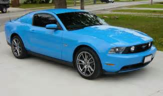 Ford Blue 2014 Ford Mustang Grabber Blue Autos Post