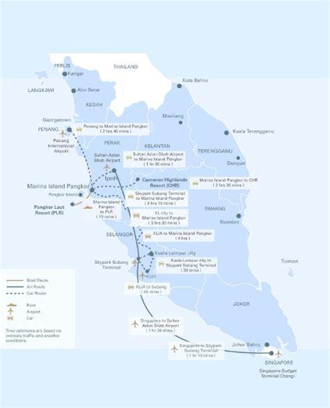pangkor island resort map pangkor laut island pangkor island malaysia